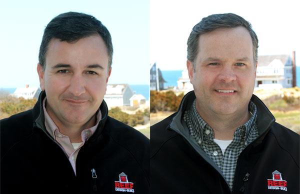 Matt Teague and Jim Hagerty of REEF CapeCodBuilder.com