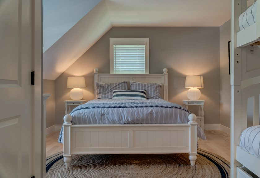 Gabled bedroom